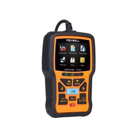 how to use foxwell nt301