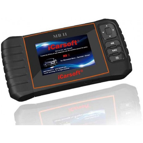 iCarsoft MB II para Mercedes-Benz / Sprinter / Smart