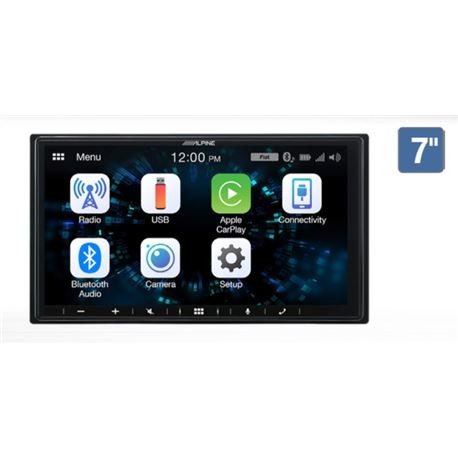 UNIDAD CARPLAY ANDROID AUTO SLIM ALPINE